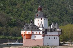Château de Palatinat image libre de droits