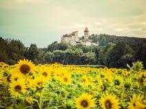 Château de palourde en Haute-Autriche, Perg im Muehlviertel Photographie stock libre de droits