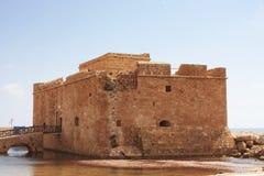 Château de Paphos Photographie stock libre de droits