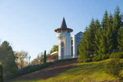Château de parc d'automne Photo stock