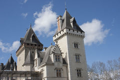 Château de Pau, France Photographie stock libre de droits