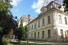 Château de Pejacevic dans Virovitica Photos libres de droits