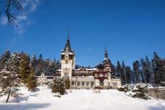 Château de Peles en Roumanie photos libres de droits
