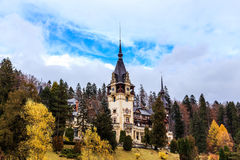 Château de Peles, Sinaia, Roumanie Photo stock