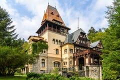 Château de Pelisor images libres de droits