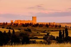Château de Penaranda de Duero photographie stock libre de droits