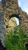 Château de Pevensey, le Sussex est photo libre de droits