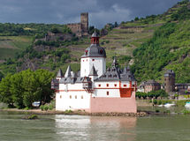 Château de Pfalzgrafenstein images stock