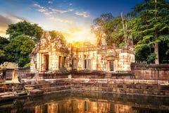 Château de pierre de Muang Tam Photographie stock