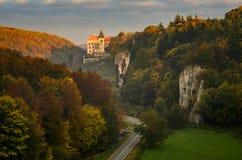 Château de Pieskowa Skala images libres de droits