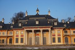 Château de Pillnitz à Dresde, Allemagne image libre de droits