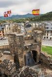 Château de Ponferrada Image stock