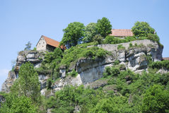Château de Pottenstein Images libres de droits