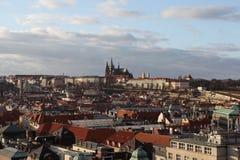 Château de Prague à la vieille tour. Prague. République Tchèque Images libres de droits
