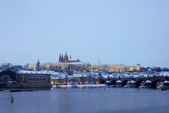 Château de Prague Images libres de droits