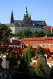 Château de Prague Photo stock