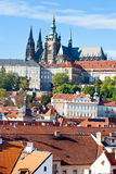 Château de Prague, Prague (l'UNESCO), République Tchèque Photo stock