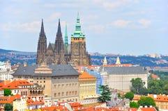 Château de Prague, République Tchèque photographie stock libre de droits