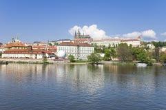 Château de Prague (Tchèque : Hrad de Prazsky) Image libre de droits