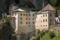 Château de Predjama Photos libres de droits
