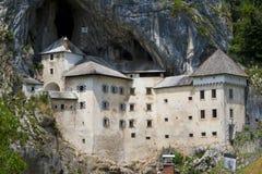 Château de Predjama, Slovénie Images libres de droits