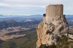 Château de Queribus Photo libre de droits