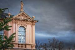 Château de résidence dans Rastatt, Allemagne image libre de droits