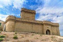 Château de Ramana dans le village de Ramana de Bakou Photographie stock libre de droits