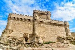 Château de Ramana dans le village de Ramana de Bakou Photo libre de droits