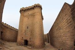 Château de Ramana dans le village de Ramana près de Bakou Image stock