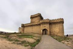 Château de Ramana dans le village de Ramana près de Bakou images stock