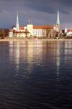 Château de Riga Photographie stock libre de droits