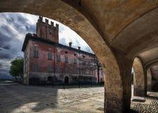 Château de Rocca de ` Baldi Photographie stock