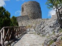 Château de Rocca San Felice Photographie stock