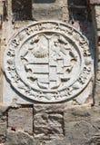 Château de Roccabianca. Émilie-Romagne. L'Italie. photographie stock libre de droits