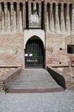 Château de Roccabianca. l'Emilia-romagna. l'Italie. image libre de droits