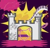 Château de roche Images libres de droits