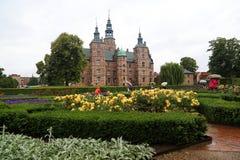 Château de Rosenborg, Danemark photo libre de droits
