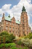 Château de Rosenborg situé au centre de Copenhague Photo stock