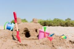 Château de sable Images libres de droits