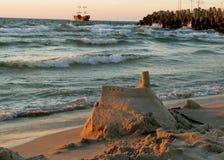 Château de sable Photo stock