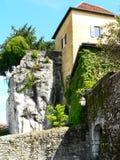 Château de Saix, sur Foron (France) de La Roche Photo stock