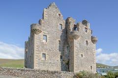 Château de Scalloway Image libre de droits