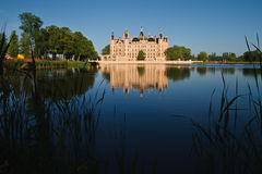 Château de Schwerin. Image libre de droits