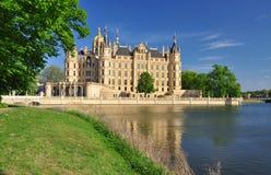 Château de Schwerin, Mecklenburg, Allemagne photo libre de droits