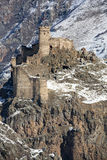 Château de Seytan dans Ardahan, Turquie Image stock