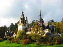 Château de Sinaia, Roumanie, l'Europe Photo libre de droits