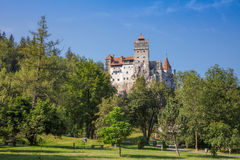 Château de son en Transylvanie Roumanie Images stock