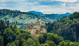 Château de son - le château de Dracula de compte, Roumanie Photographie stock libre de droits