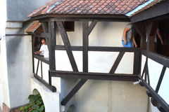 Château de son, maison de Dracula, Brasov, la Transylvanie photos stock
